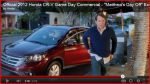 2012 Honda CR-V Game Day Ad